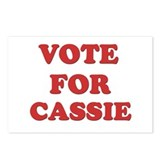 Vote for CASSIE Postcards (Package of 8)