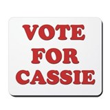 Vote for CASSIE Mousepad