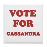 Vote for CASSANDRA Tile Coaster
