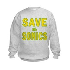 Save the Sonics in Seattle Sweatshirt