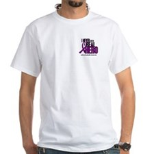 Never Knew A Hero 2 Purple (Grandmother) Shirt