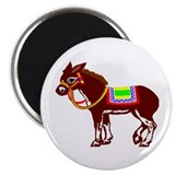 "Pin the tail on the donkey 2.25"" Magnet (10 pack)"