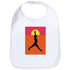 Yoga Warrior Pose Bib