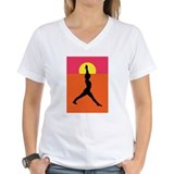 Yoga Warrior Pose Shirt