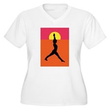 Yoga Warrior Pose T-Shirt