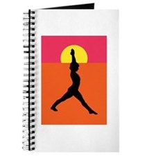 Yoga Warrior Pose Journal