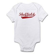 Sheffield (red vintage) Onesie