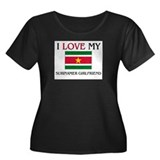 I Love My Surinamer Girlfriend Women's Plus Size S