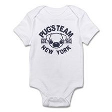 PUG'S TEAM Infant Bodysuit