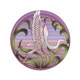 "Heron Sunset 3.5"" Button (100 pack)"