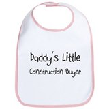 Daddy's Little Construction Buyer Bib