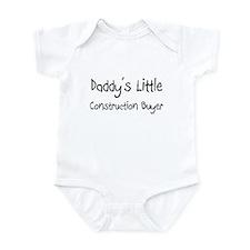 Daddy's Little Construction Buyer Infant Bodysuit
