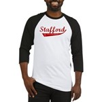 Stafford (red vintage) Baseball Jersey