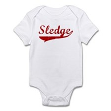 Sledge (red vintage) Infant Bodysuit