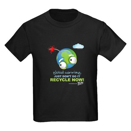 Earth as a Bomb Kids Dark T-Shirt