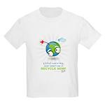 Earth as a Bomb Kids Light T-Shirt