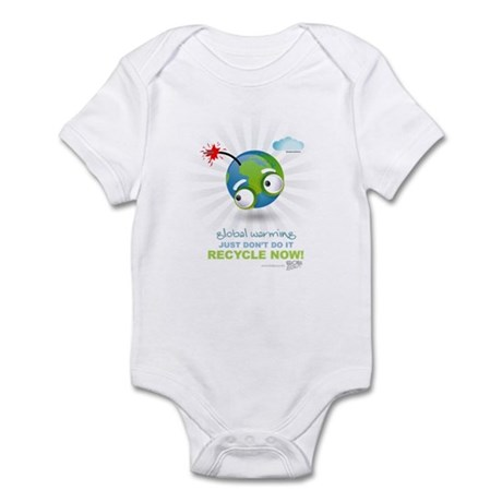 Earth as a Bomb Infant Bodysuit