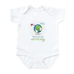 Earth as a Bomb Infant Bodysuit