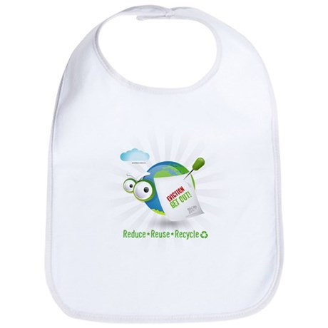 Eviction from Earth Funny Bib