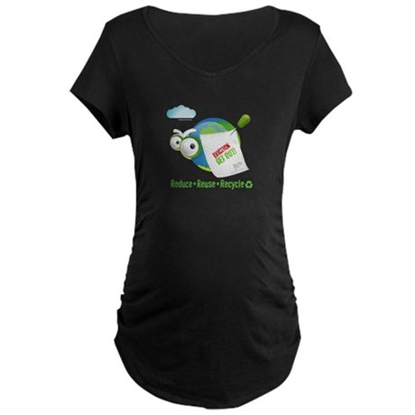 Eviction from Earth Funny Maternity Dark T-Shirt