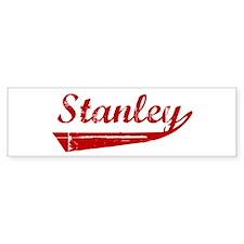 Stanley (red vintage) Bumper Bumper Sticker