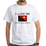 I Love My Papua New Guinean Girlfriend Shirt