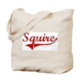 Squire (red vintage) Tote Bag