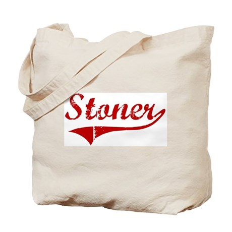 Stoner (red vintage) Tote Bag