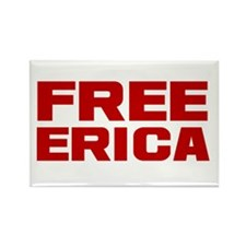 Free Erica Rectangle Magnet (10 pack)