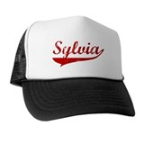 Sylvia (red vintage) Hat
