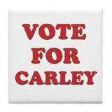 Vote for CARLEY Tile Coaster