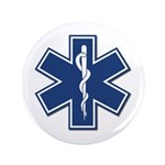 "EMT Rescue 3.5"" Button (100 pack)"