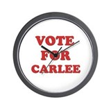Vote for CARLEE Wall Clock