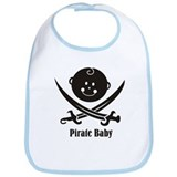 Pirate Baby I Bib