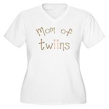 Mom of Twin Girls Twiin T-Shirt