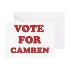 Vote for CAMREN Greeting Card