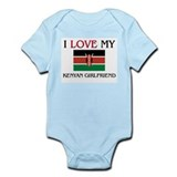 I Love My Kenyan Girlfriend Infant Bodysuit