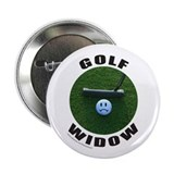 "GOLF WIDOW 2.25"" Button"