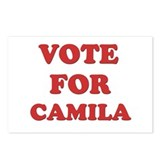 Vote for CAMILA Postcards (Package of 8)