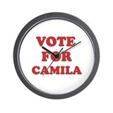 Vote for CAMILA Wall Clock