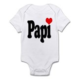 I love Papi Infant Bodysuit