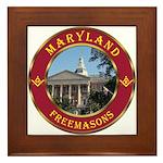 Maryland Masons Framed Tile