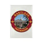 Maryland Masons Rectangle Magnet (10 pack)
