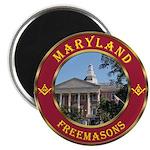 Maryland Masons Magnet