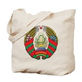 Emblem of Belarus Tote Bag