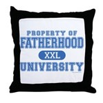 Daddy U. Throw Pillow