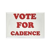 Vote for CADENCE Rectangle Magnet (10 pack)