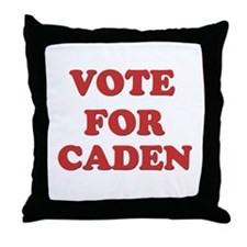 Vote for CADEN Throw Pillow