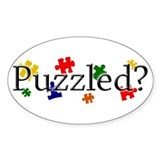 Puzzled? Decal