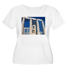 Blue Temple Women's Scoop T-Shirt